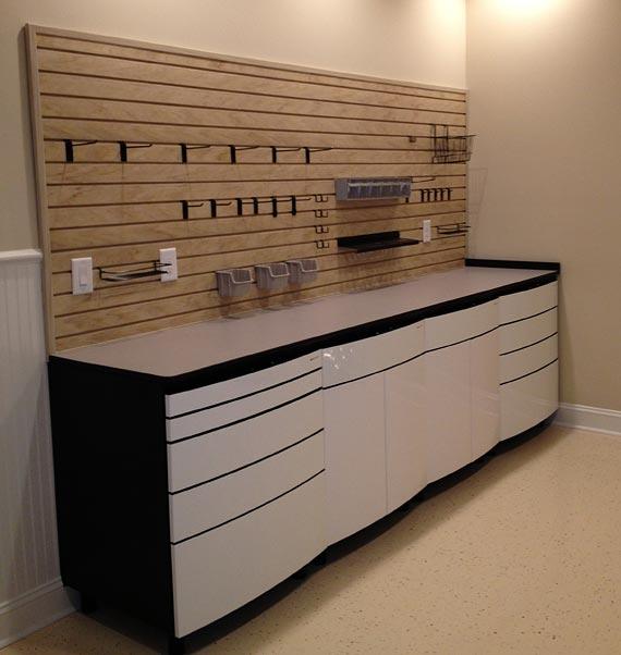 Home organization workspace